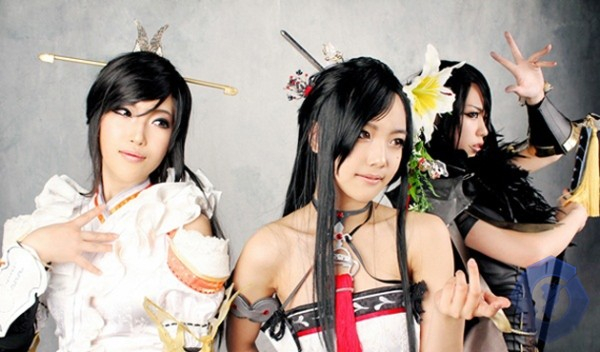 Cosplay Blade and Soul